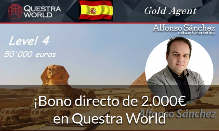¡Bono directo de 2.000€ en Questra World!
