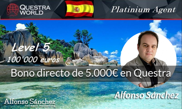 ¡Bono directo de 5.000€ en Questra World!